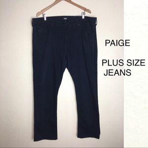 Paige skinny plus size jeans